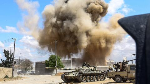 At least 120 killed, nearly 600 wounded in Libya fighting - WHO