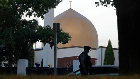 Six appear in NZ court for redistributing terror attack video