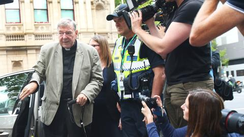 Australian journalists on trial over Pell trial coverage