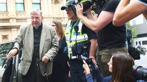 Australian court upholds child sex convictions against Cardinal Pell