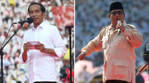A look at Indonesia's presidential, vice-presidential candidates