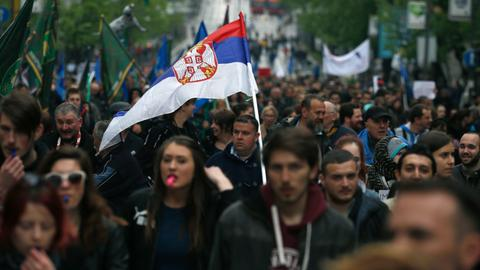 Serbian protests leave government shaken but not stirred