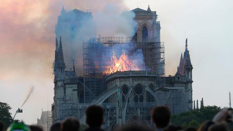 YouTube links Notre Dame fire to 9/11 attacks