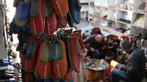 Turkish shoemaker takes traditional footwear mainstream