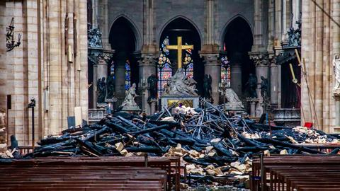Notre Dame fire out, its treasures intact but rebuilding challenges ahead