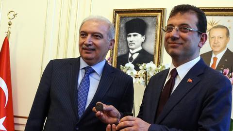 CHP's Ekrem Imamoglu becomes new Istanbul mayor