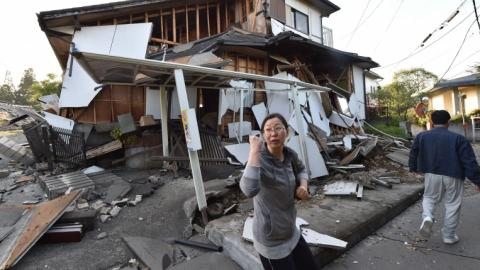 Major earthquake strikes Japan, killing at least 18 people