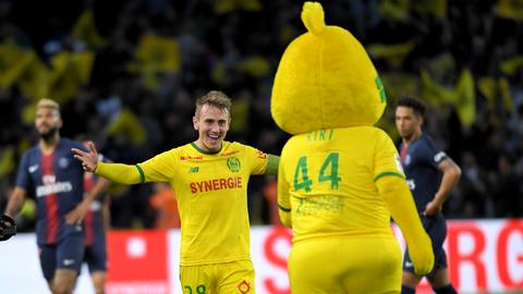 PSG lose at Nantes, again fail to clinch French title