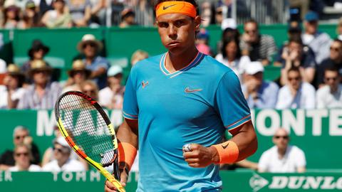 Dominant Nadal makes winning start in Monte Carlo