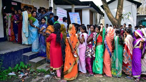 Kashmir in play in phase two of India's elections