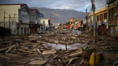 Floods kill 3 in Chile, 19 missing