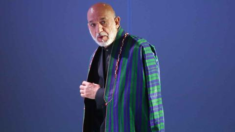 The rebirth of Hamid Karzai: Kingmaker to president to father figure
