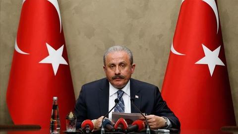 Turkish parliament speaker to attend summit in Iraq