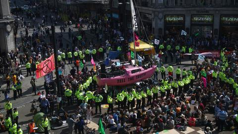 UK police say total of climate activists arrested passes 750