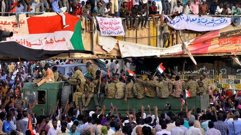 Sudan arrests several top members of former ruling party