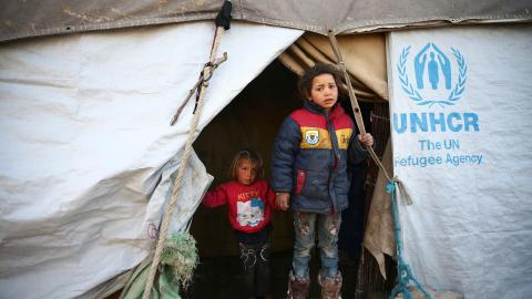 Children in Syria's Eastern Ghouta struggle to get an education