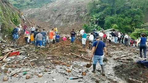 Landslide in south-western Colombia kills at least 28