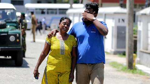 Information about victims trickles out after Sri Lanka terror attacks