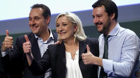 Far-right parties look to form alliance for EU parliamentary elections