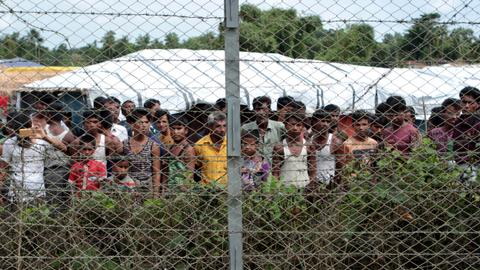 Rohingya trapped inside a 'genocide zone'