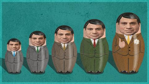 Egypt is now a Russian doll regime with a new coup hidden under every layer