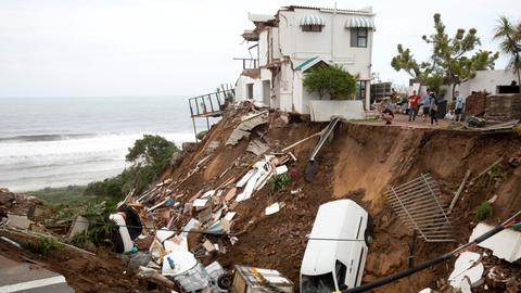 Around 70 dead in South Africa after heavy rains
