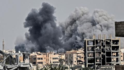 US-led coalition 'killed 1,600 civilians' in Syria's Raqqa