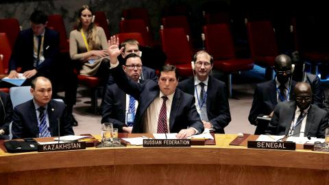 Opposition regrets Russia's veto on UN sanction of Syrian regime