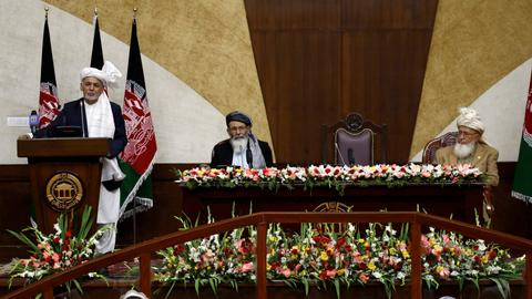 Afghan president inaugurates newly-elected parliament
