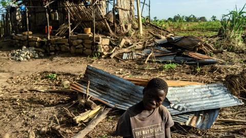 New cyclone hits Mozambique, one dead as big floods warned