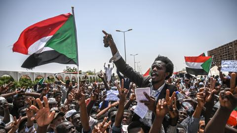 What is the US's stance in the Sudan uprising?