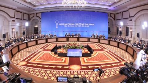 Talks on Syria to resume in Kazakh capital