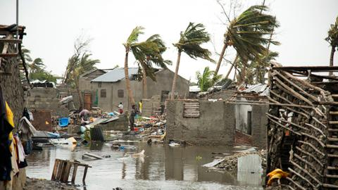 At least five killed as rains lash Mozambique after Cyclone Kenneth