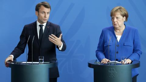 Macron, Merkel push Serbia and Kosovo to find resolution