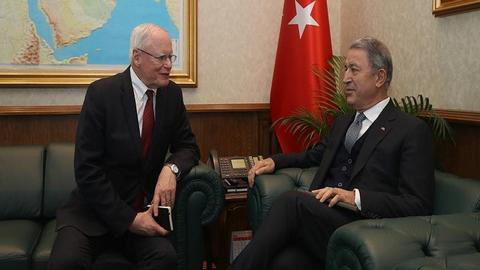 US special envoy visits Turkey to 'address Ankara's security concerns'