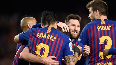 Barcelona manages Messi's time ahead of Champions League