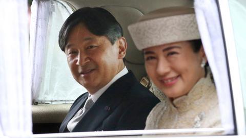 Japan's Crown Prince Naruhito becomes emperor