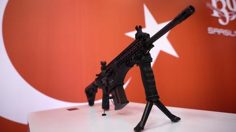 International Defence exhibition opens in Turkey
