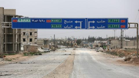 Turkey warns the YPG to leave Syria's Manbij