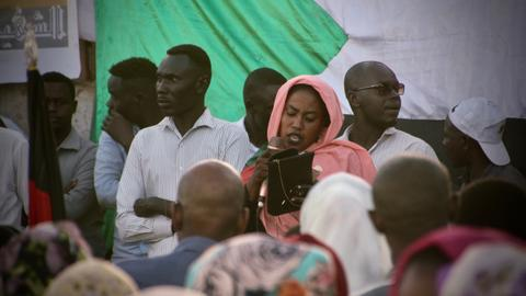 Patience and generosity fuel the Sudan protests