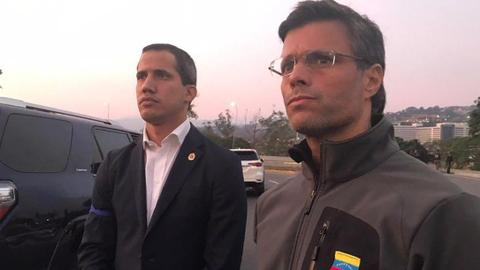 Another failed coup attempt takes place in Venezuela: who is Juan Guaido?