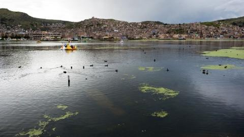 South America's largest freshwater lake under threat