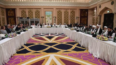 New round of US-Taliban peace talks begins in Qatar