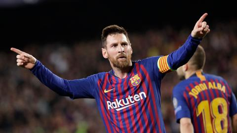 Messi hits 600 goals with brace, Barca beats Liverpool 3-0