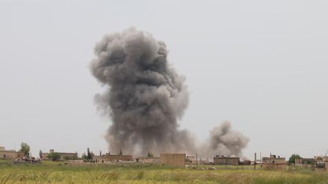 Syrian regime attacks kill at least eight in de-escalation zones