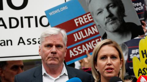 UN rights experts cite concern at 'disproportionate' Assange detention