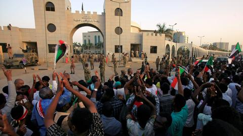 Sudan protesters ease demands in stand-off with military