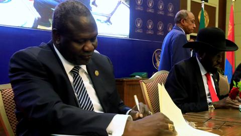 South Sudan's unity government delayed by six months