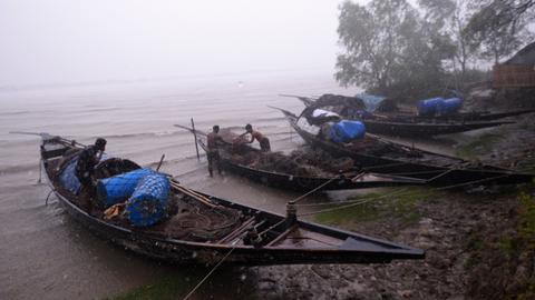 Cyclone Fani barrels into Bangladesh, killing at least nine