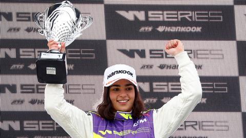 Chadwick wins inaugural W Series motor race in British one-two
